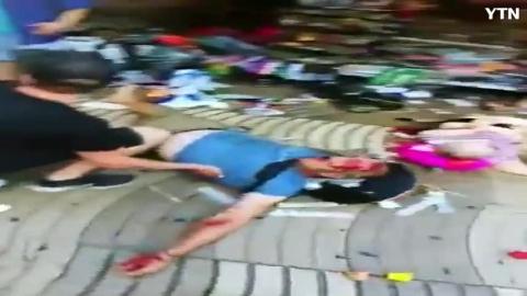 [사고현장] 바르셀로나 테러 직후 촬영 ...