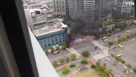 [기타] 차량 화재 영상