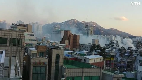 [사고현장] 의정부 제일시장 화재발생
