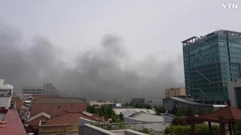 [사고현장] 21일 인천항 화재