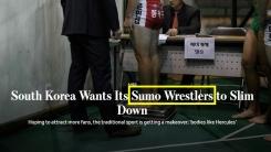 한국 씨름 열풍 소개하면서 '스모'라고 표기한 美 월스트리트저널