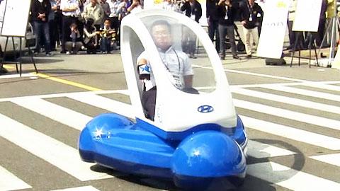 운전대 없는·접히는 차...미래형 아이디어 자동차