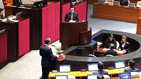 대정부질문 '사이버사령부 댓글' 공방 치열