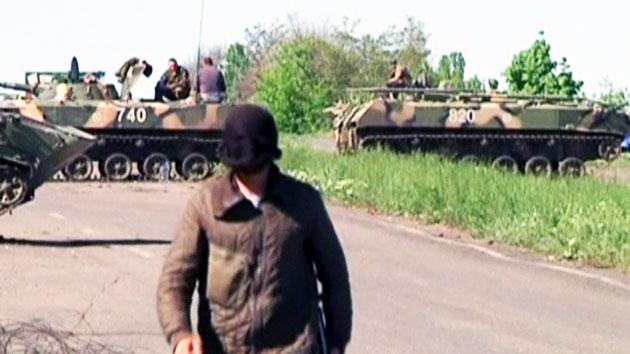 우크라 동부 '휴전'에 러시아도 '호응'...사태 해결 기대 커져