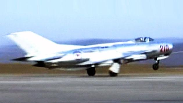 북한 미그-19 전투기 이달초 훈련중 추락