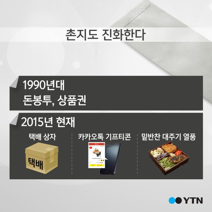 [한컷뉴스] '요즘 돈봉투 촌지가 어딨어요?'