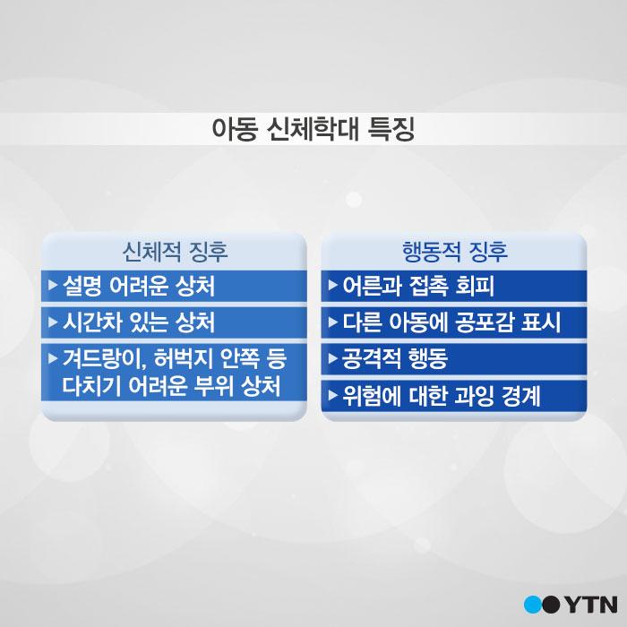 [한컷뉴스] '우리 아이도 혹시…?' 학대의 징후