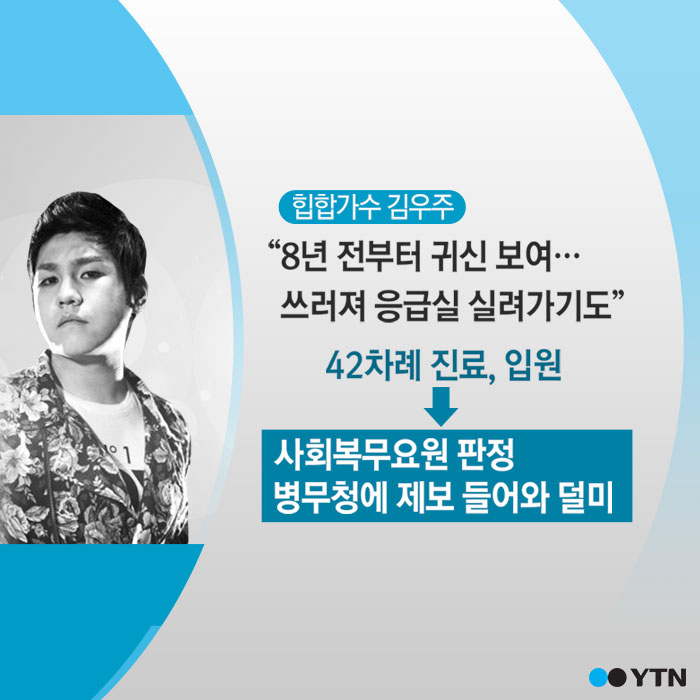 """[한컷뉴스] 군대 안가려고 """"귀신이 보여요"""""""