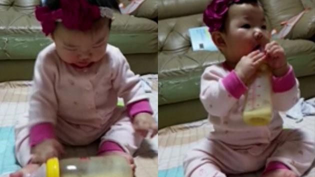 """[제보영상] """"엄마, 제가 혼자 먹어 볼게요"""""""