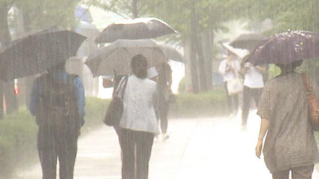 [날씨] 늦게 시작한 장마…비 언제까지 얼마나 오나?