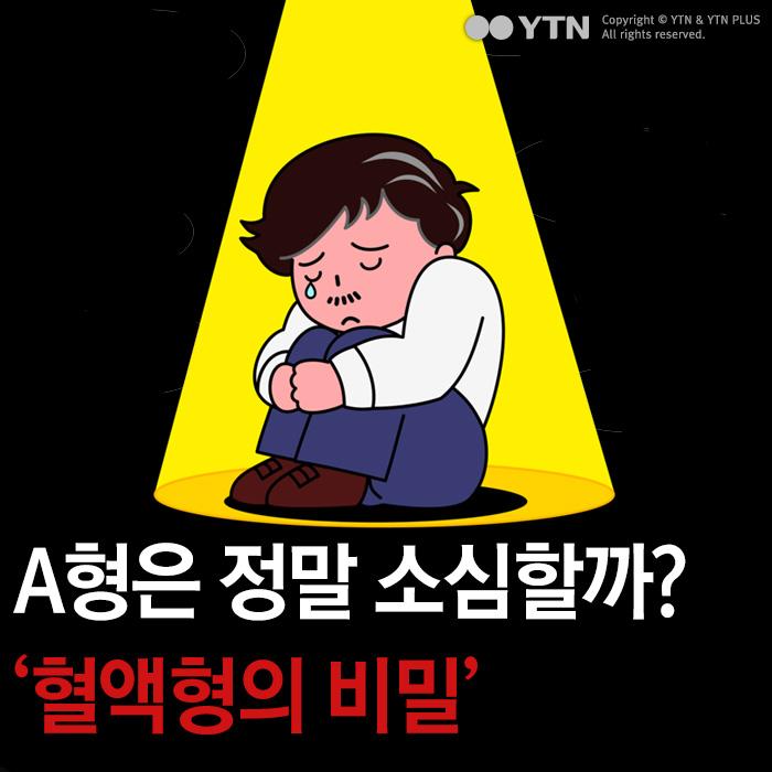 [한컷뉴스] A형은 정말 소심할까? '혈액형의 비밀'