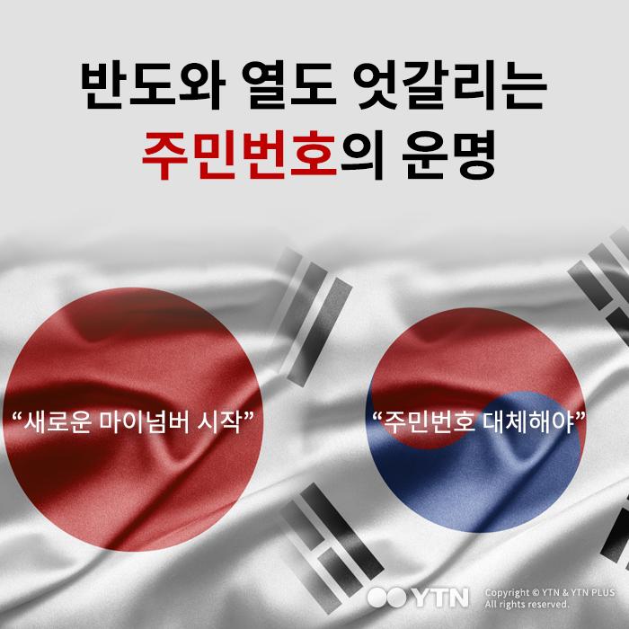 [한컷뉴스] 반도와 열도 엇갈리는 주민번호의 운명