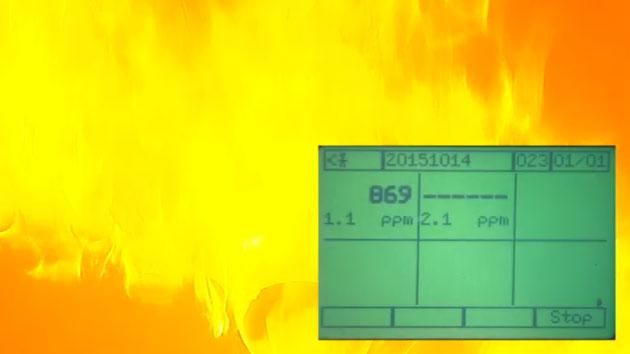 아파트에 불이 나면 연기는 얼마나 빨리 퍼질까?