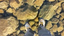 '공중에 떠 있는 느낌' 폴란드 투명 호수의 착시현상
