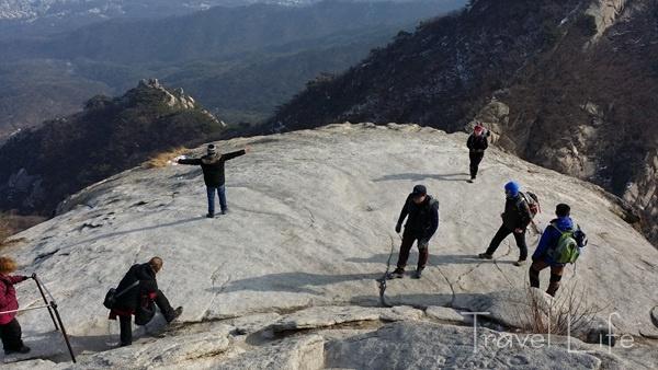 북한산 '백운대', 마음속 등산은 어디에서 시작되는가?