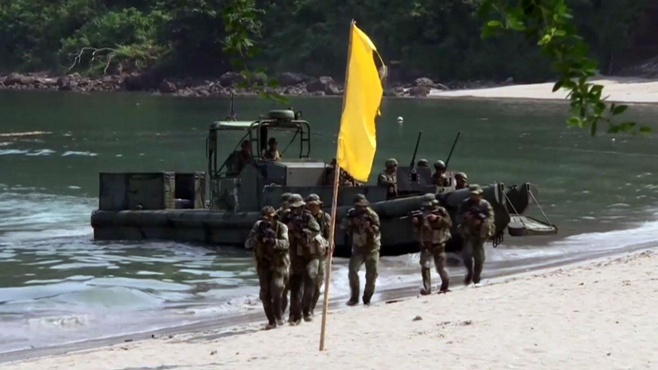 미군, 24년 만에 필리핀 다시 주둔...中 남진 차단