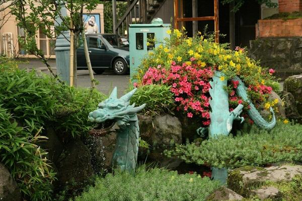 [포토에세이-일본 유휴인] 꽃을 사랑한 용