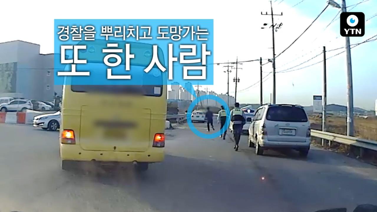 """[블박TV] """"저쪽으로 튀어!"""" 대낮에 벌어진 황당 추격전"""