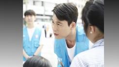 배우 정우성, 유엔 난민기구 일일 모금활동