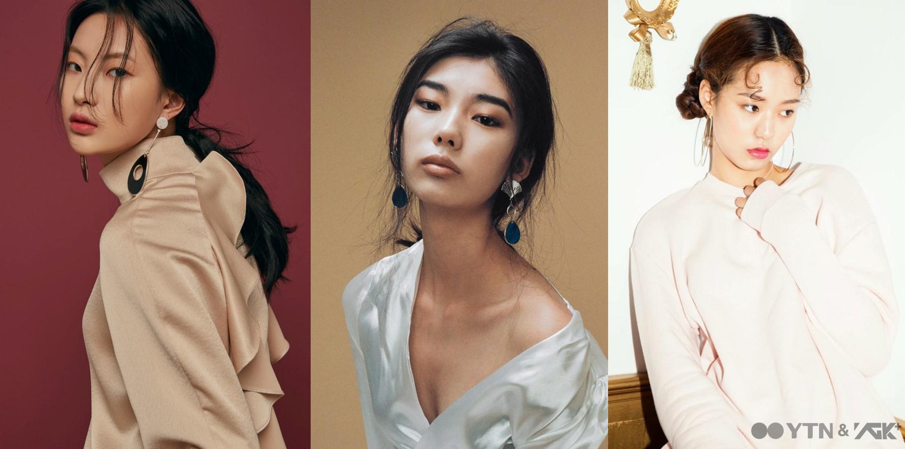 패션계 접수 예고, 주목해야 할 뉴페이스 여자 모델 명진-예지-은서