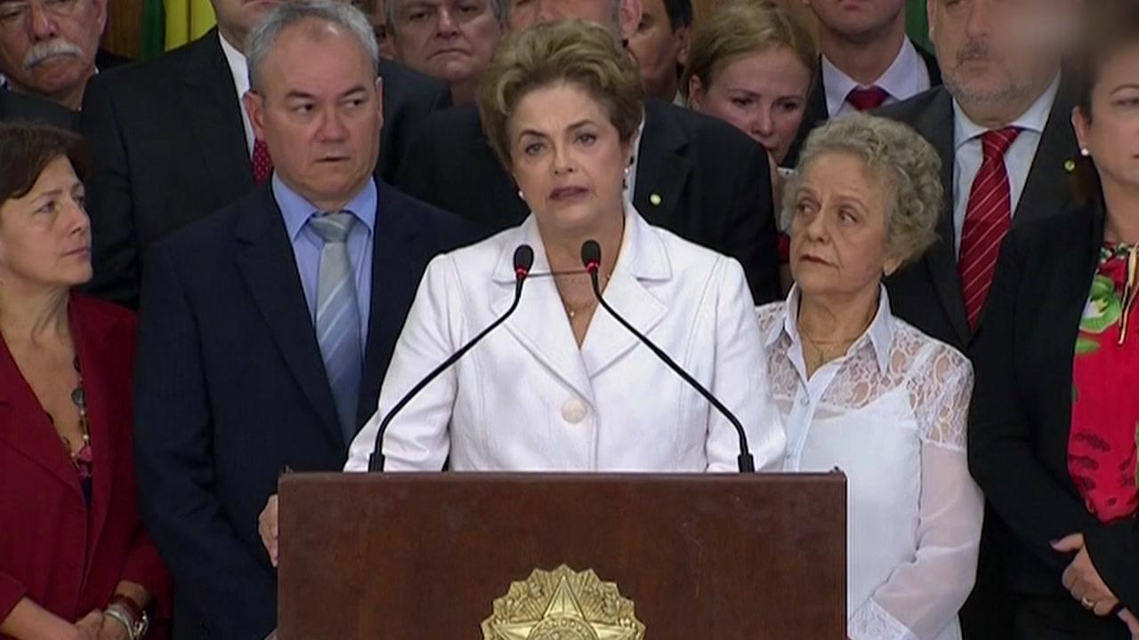 브라질 상원, 호세프 대통령 탄핵안 가결