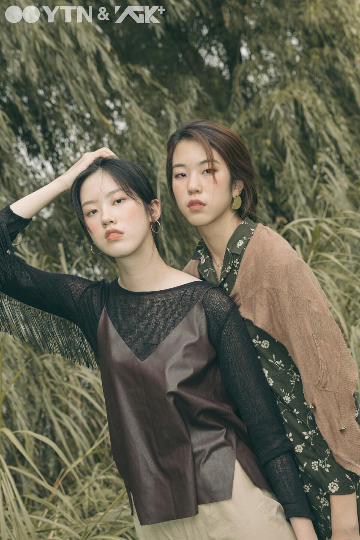 박효린-정예진, 분위기 있는 가을 톤으로 모델 포스 발휘!