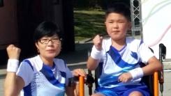 [좋은뉴스] 희소병 초등생, 엄마와 함께 400m 달리다