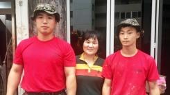 [좋은뉴스] 태풍피해 복구현장의 '착한 군인들'