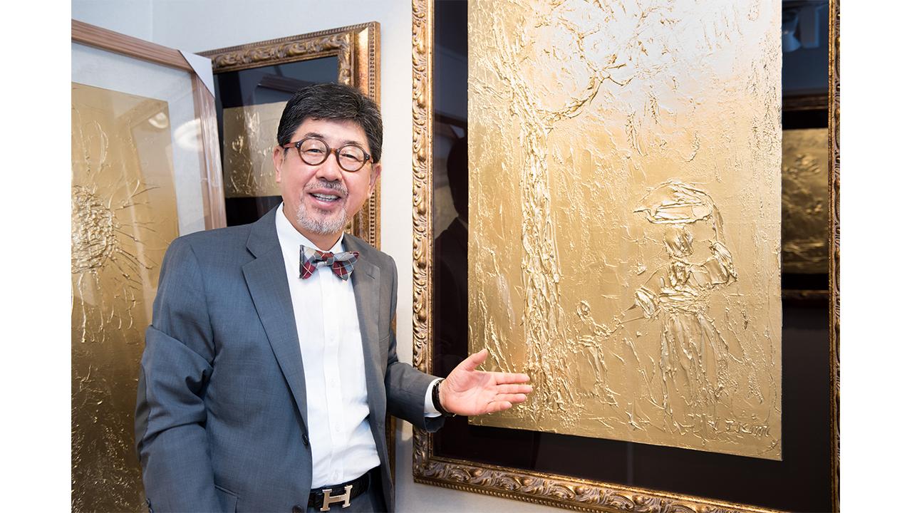 [리더스인터뷰] '뉴욕타임즈'에 소개된 독창적인 금화 작가, 김일태 화백