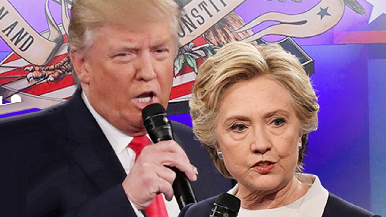 마지막 경기 앞둔 '수난의 힐러리와 트럼프'