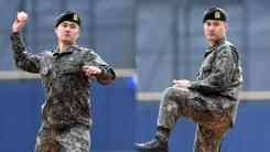 한국시리즈 시구한 육군 상병...그 사연은?