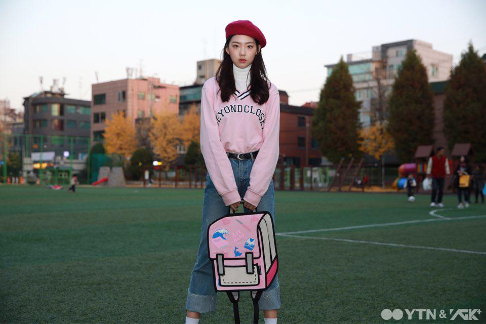 '발랄함의 절정' 조예림의 베레모 스타일링!