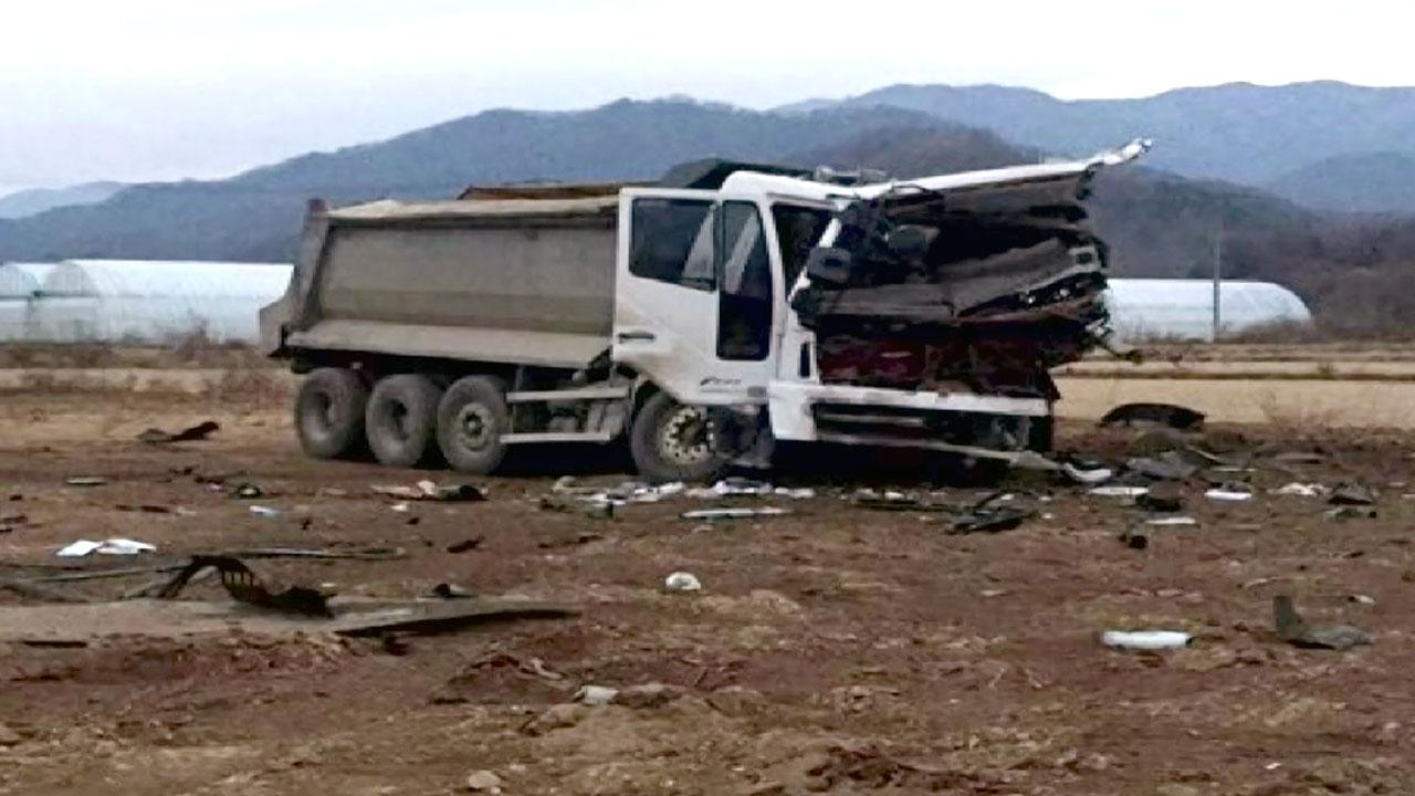 철원서 대전차 지뢰 폭발...근로자 1명 사망