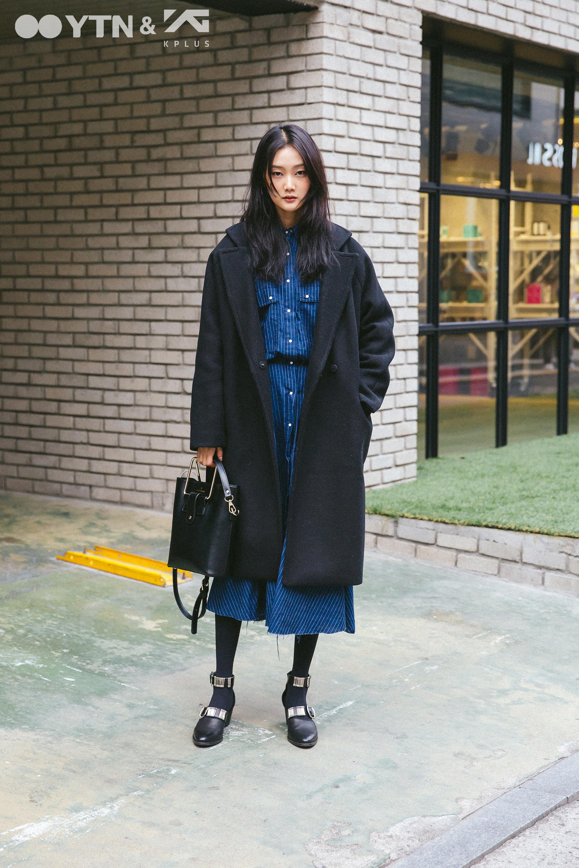 남심 잡는 잇 아이템, 모델 문영의 롱 드레스 스타일링
