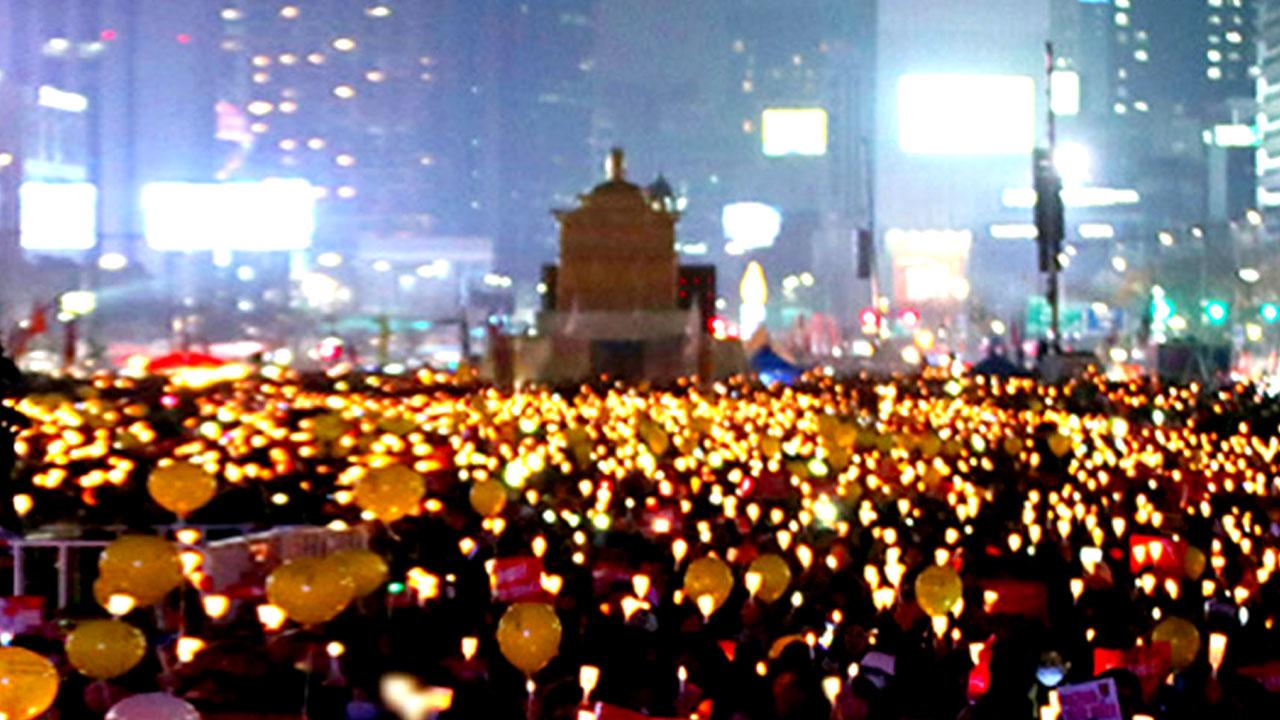 """올해의 마지막도 촛불집회...""""누적인원 천만 명 기대"""""""