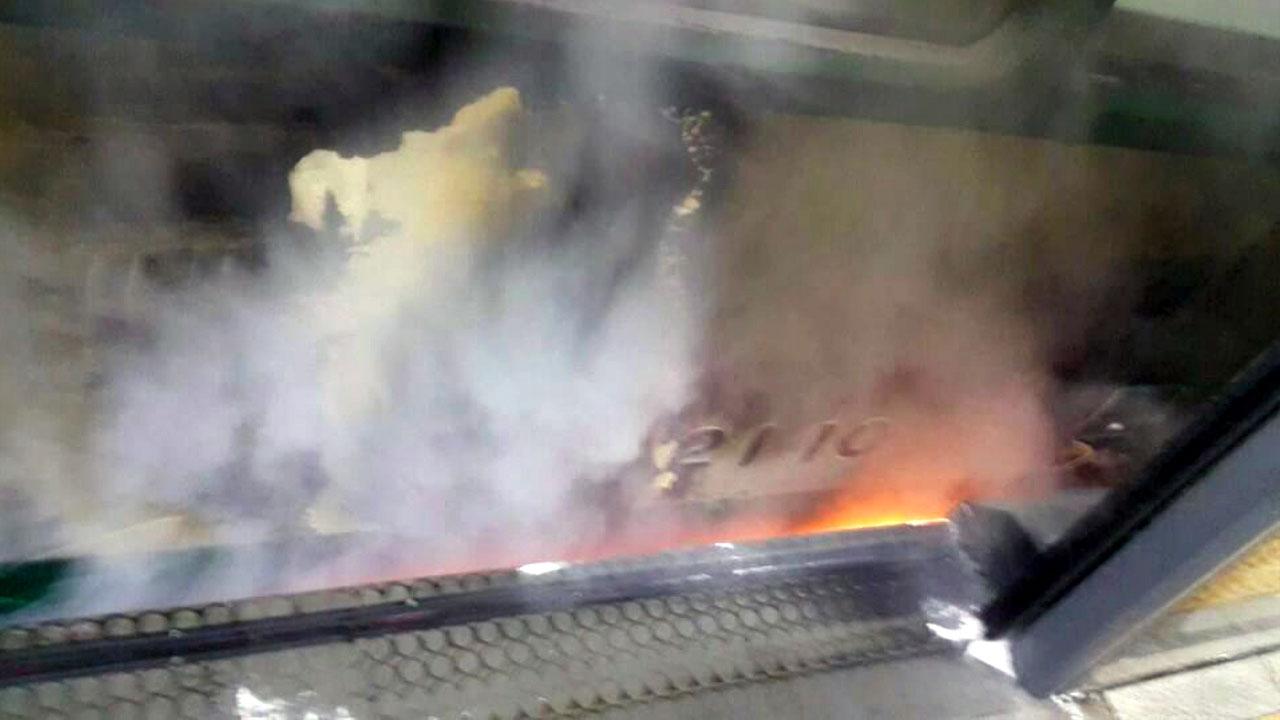잠실새내역 화재로 지하철 2호선 운행 한때 중단