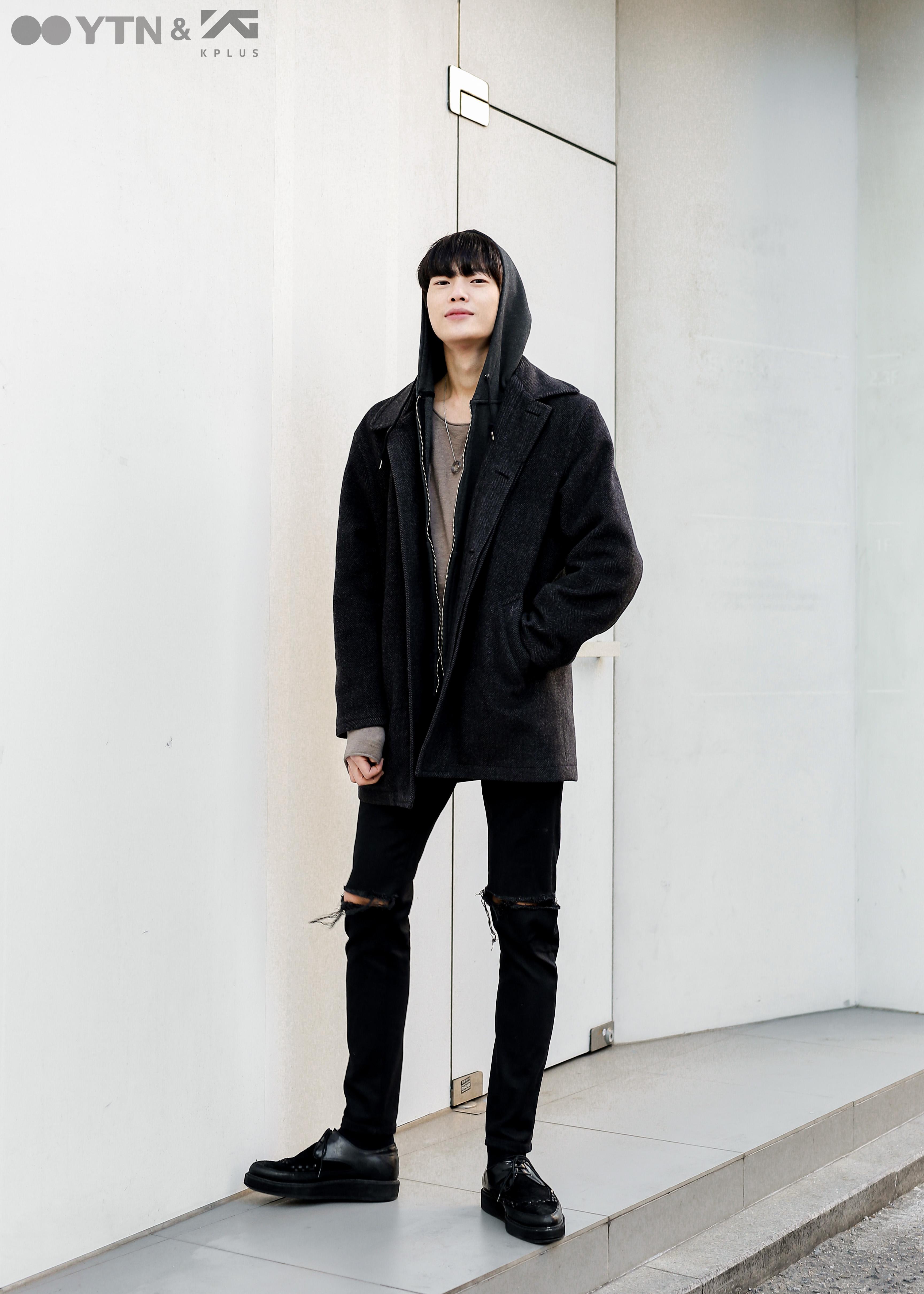 '무심한 듯 멋스럽게' 모델 고웅호의 캐주얼 시크룩!