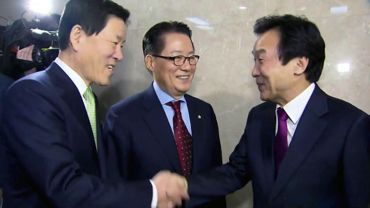 국민의당·손학규 통합...文 대세 흔들까?