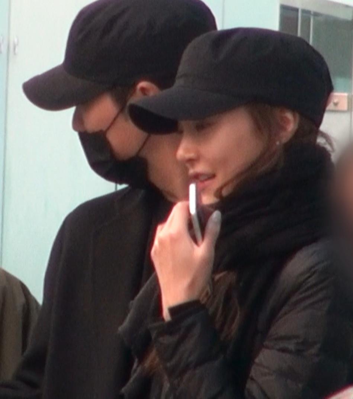 [단독] 주상욱♡차예련, 동반 해외여행 출국…올블랙 커플룩 '눈길'