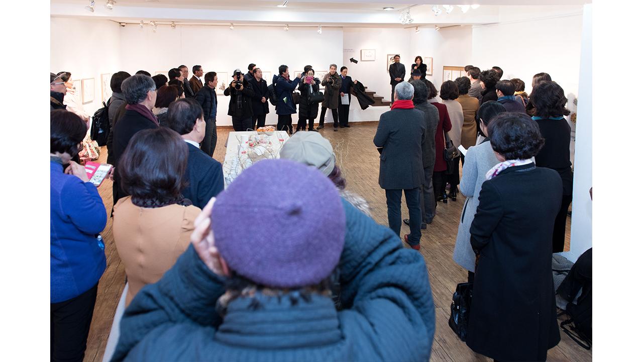 이시형 박사 '세로토닌 문인화전', 인사동 경인미술관서 개막