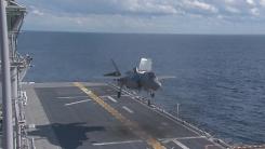 美 F-35B, 한반도서 '선제타격' 능력 시현