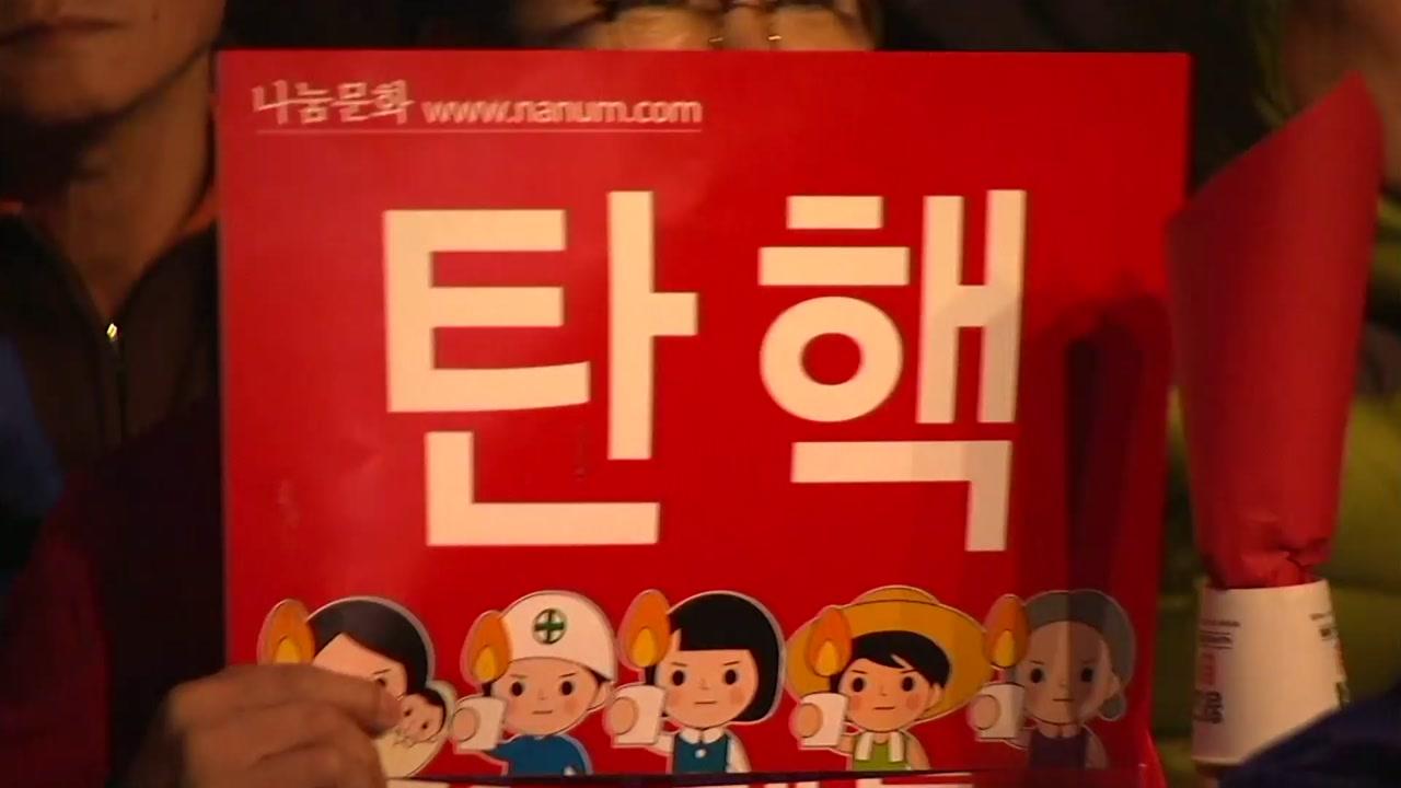 """""""대통령 탄핵 인용돼야 진정한 봄"""""""