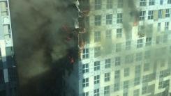 상암동 대형화재 발생…MBC 직원 한때 대피 소동