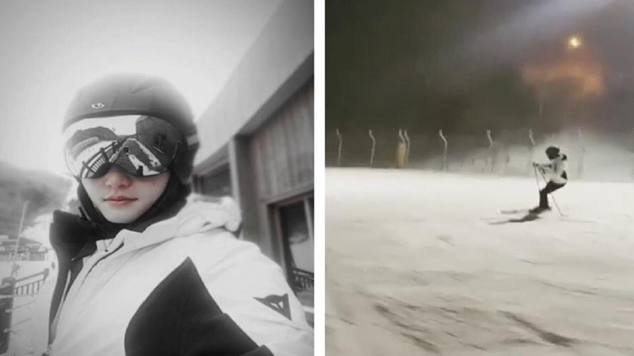 박시후, 근황 공개‥수준급 스키 실력 '눈길'