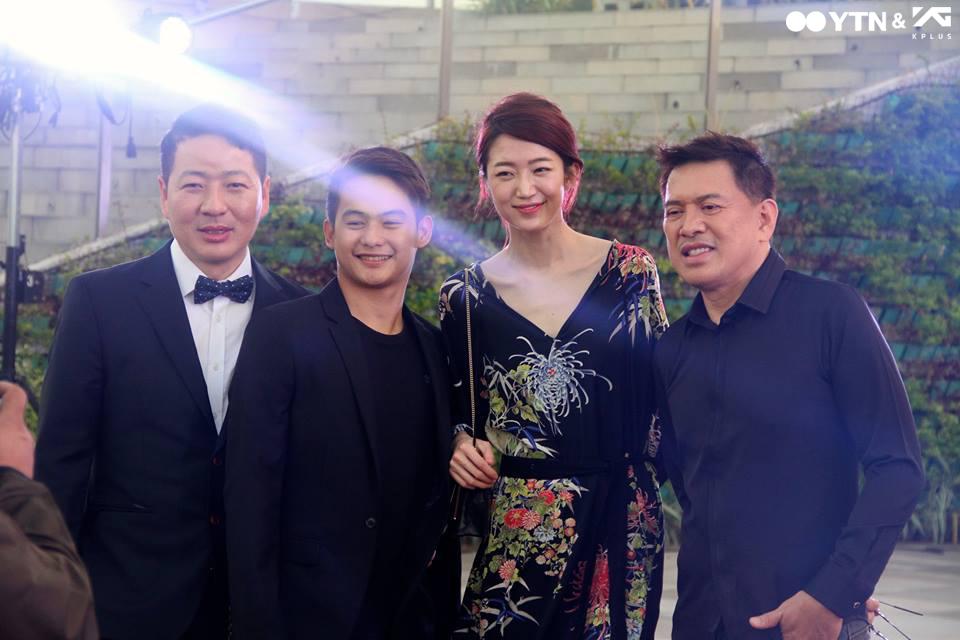 이송이, 영화 '워킹스트리트'로 '시나그 마닐라 독립 영화제' 참석