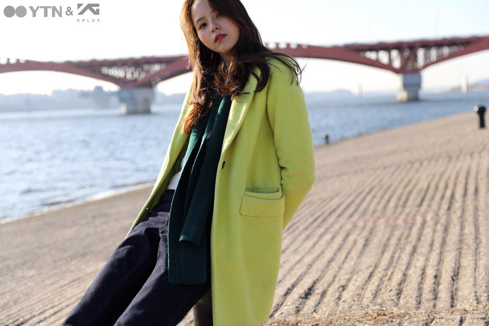 모델 류서현 룩으로 살펴보는 '파스텔 톤 코트' 스타일링!
