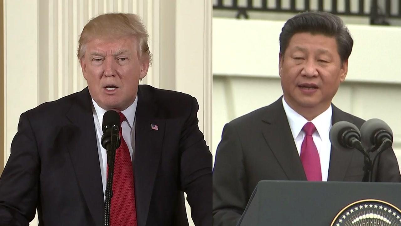 [취재N팩트] 트럼프, 中에 '북핵' 최후통첩...미중 정상회담 기싸움