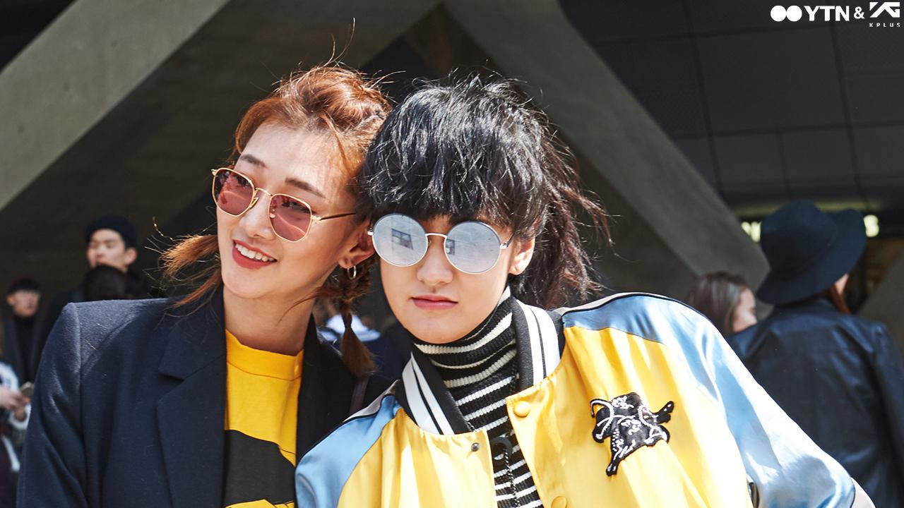 봄날 패션의 화룡점정! 컬러 렌즈 메탈 선글라스!