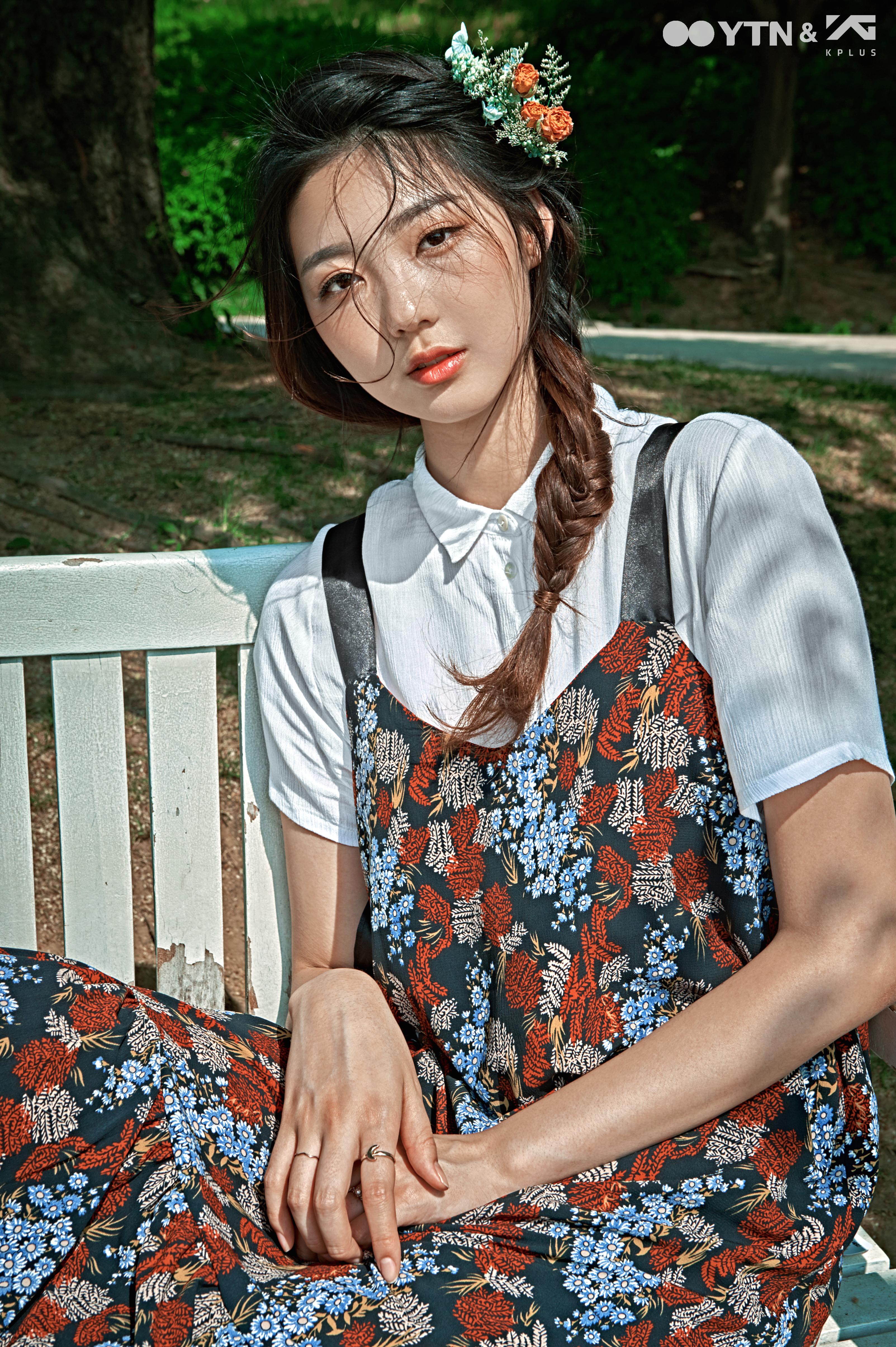 모델 조예림의 애정템 '뷔스티에 드레스' 스타일링!