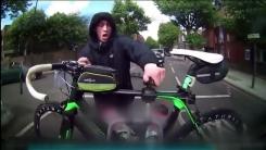 [지구촌 생생영상] '지켜보고 있었다'...자전거 절도범의 굴욕